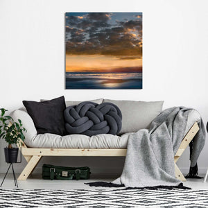A Dream Away by Mike Calascibetta Print on CanvasSea and Shore,Blue art, Square Shape,Mike Calascibetta,All Canvas Art,All Subjects,All Colors,All Shapes,All Artists
