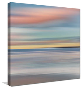 Honey Twilight by Mike Calascibetta Print on CanvasSea and Shore,Blue art, Square Shape,Mike Calascibetta,All Canvas Art,All Subjects,All Colors,All Shapes,All Artists