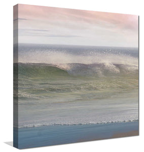 California Surf 1 by Mike Calascibetta Print on CanvasSea and Shore,Gray art, Square Shape,Mike Calascibetta,All Canvas Art,All Subjects,All Colors,All Shapes,All Artists