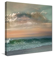 Sundown Malibu 2 by Mike Calascibetta Print on CanvasSea and Shore,Blue art, Square Shape,Mike Calascibetta,All Canvas Art,All Subjects,All Colors,All Shapes,All Artists