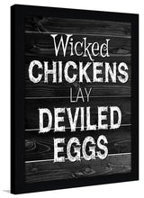 Deviled Eggs  Framed Wall Art