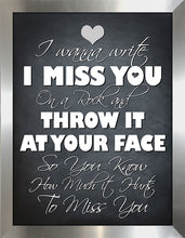 It Hurts to Miss You  Framed Wall Art