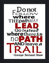 Leave a Trail  Framed Wall Art