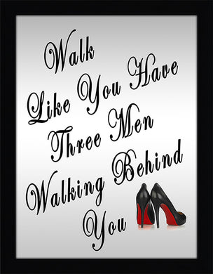 Walk  Framed Wall Art