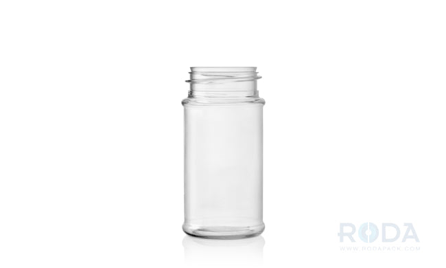 3.5 oz Round PET Clear