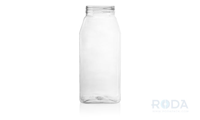 32 oz Oblong PET Clear