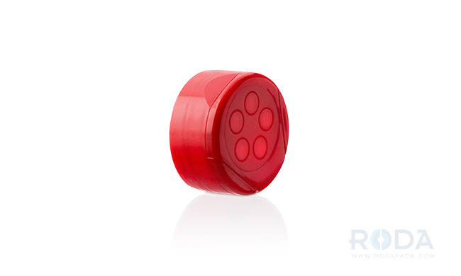 Dispensing Cap Red 43-485; .200 hole; PS-Foam Line