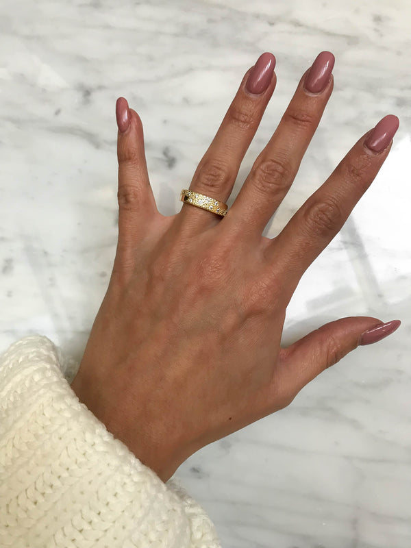 'LUMI' Ring in Goud