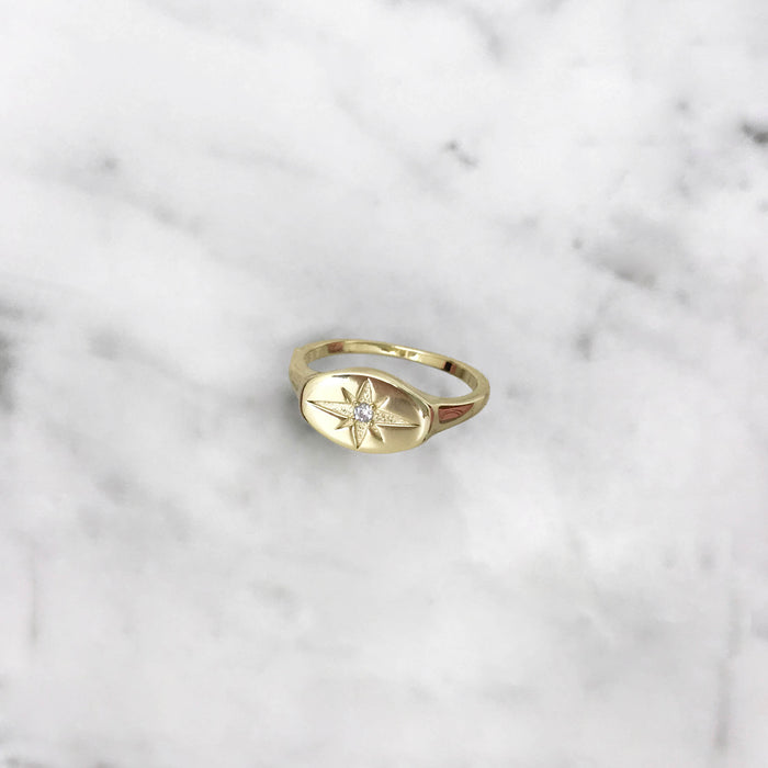 'BLISS' Ring in Gold