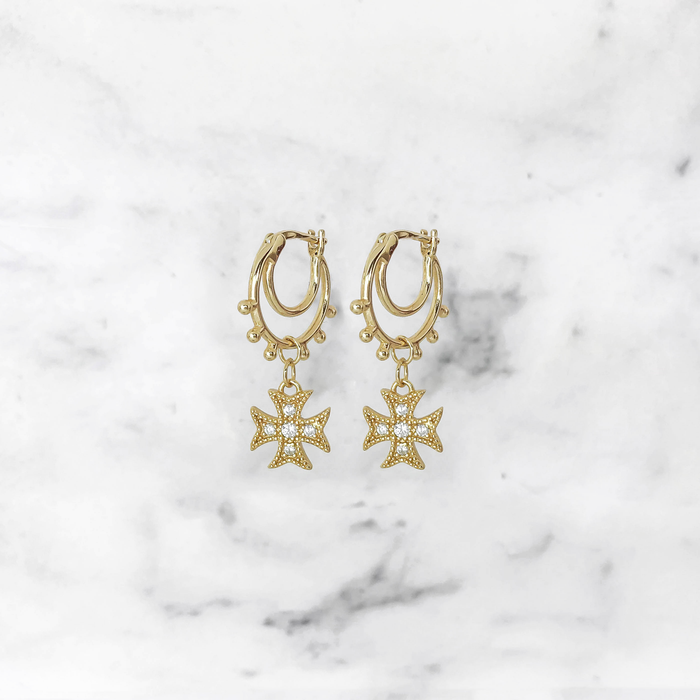 'BOHO' Earrings in Goud
