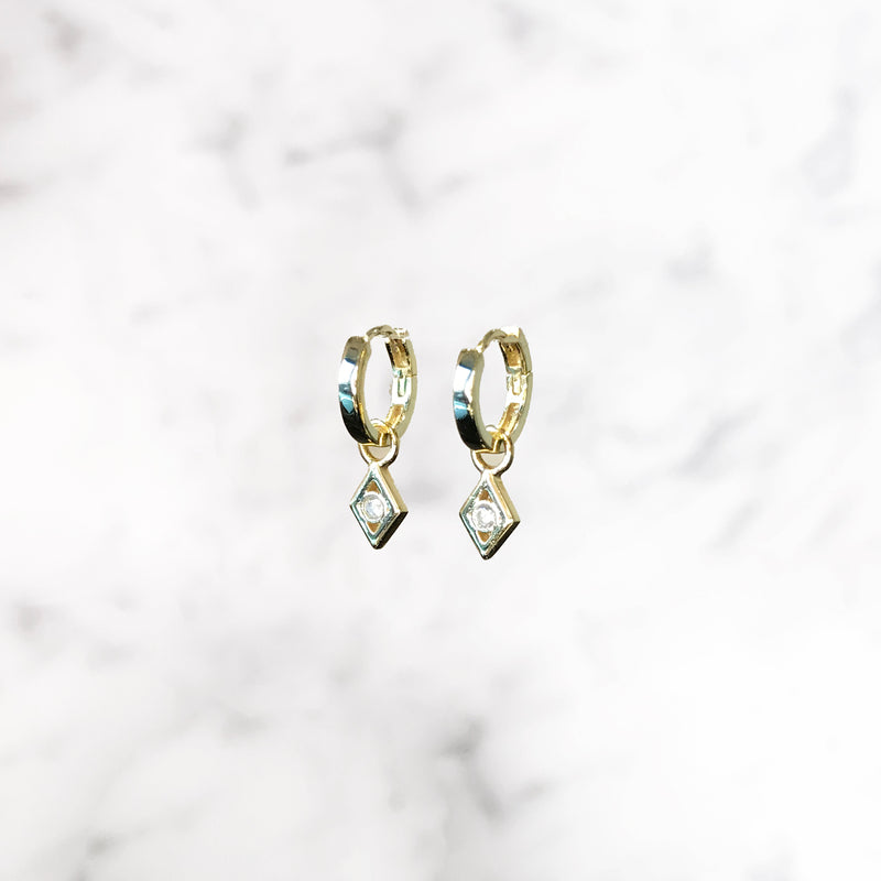'LUCKY STAR' Earrings in Goud