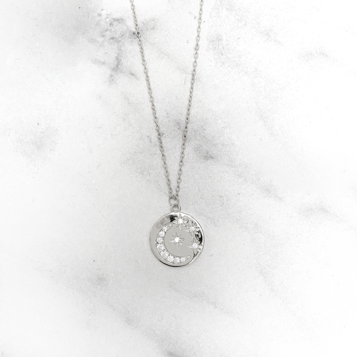'STARRY SKY' Necklace in Zilver