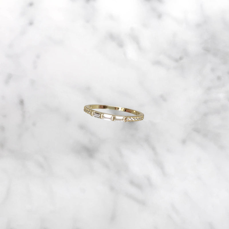'XOXO' Ring in Goud