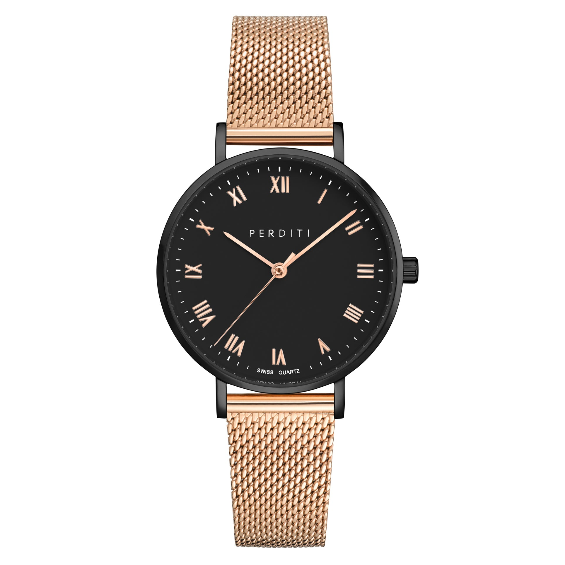 VENI Rose Gold Black