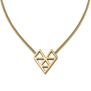 AMOTI ISSUE NECKLACE Gold