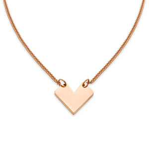 AMOTI NECKLACE Rose Gold