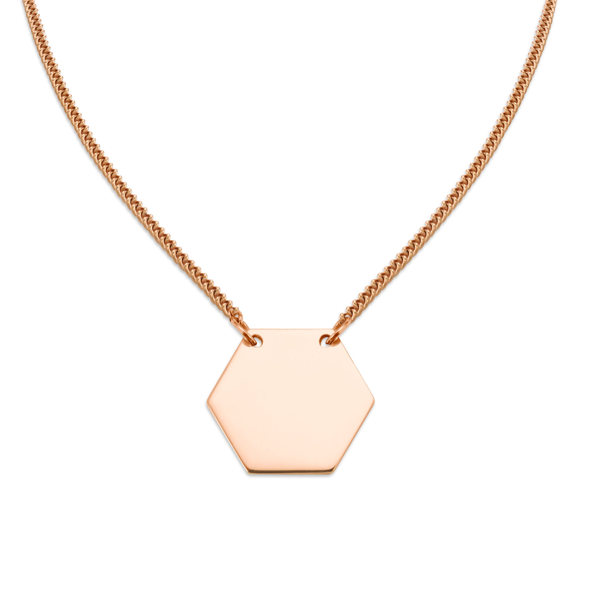 LIBRI NECKLACE Rose Gold