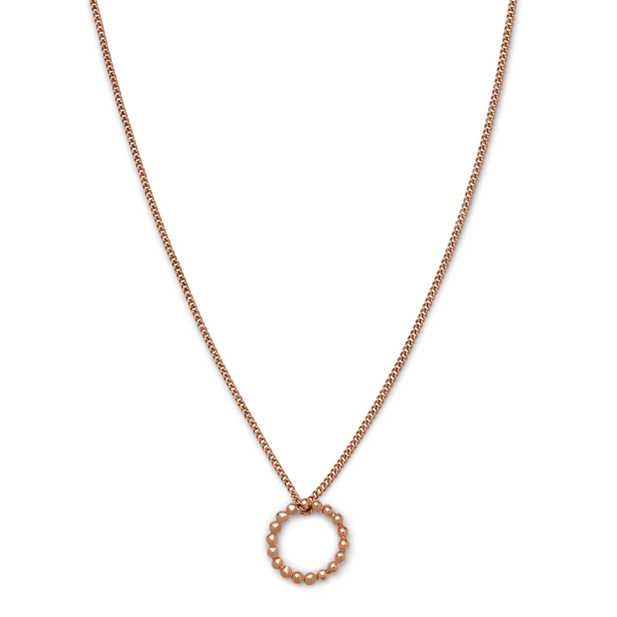 DIVI NECKLACE Rose Gold