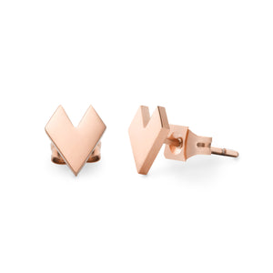AMOTI EARRINGS ROSE GOLD