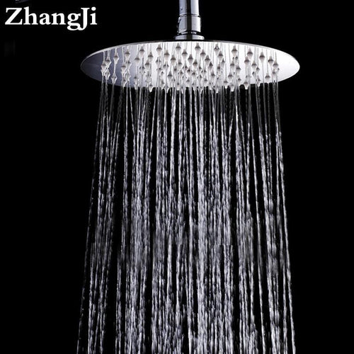 10 inch Large Round Shape - Stainless Steel Shower Head - HomeWareBargains