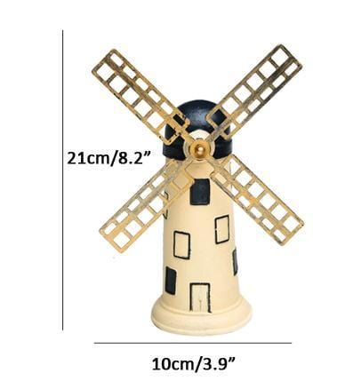 "14cm(5.5"") Dutch Windmill Statue - HomeWareBargains"