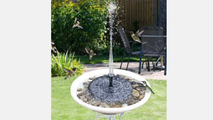 Solar Powered Fountain Pump - HomeWareBargains