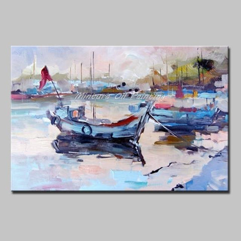Oil Paintings Hand-Painted Canvas Oil Painting Modern Art Abstract Painting. - HomeWareBargains