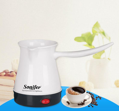 Mini Coffee Machine Turkey Coffee Maker Portable Electrical Coffee Pot - HomeWareBargains