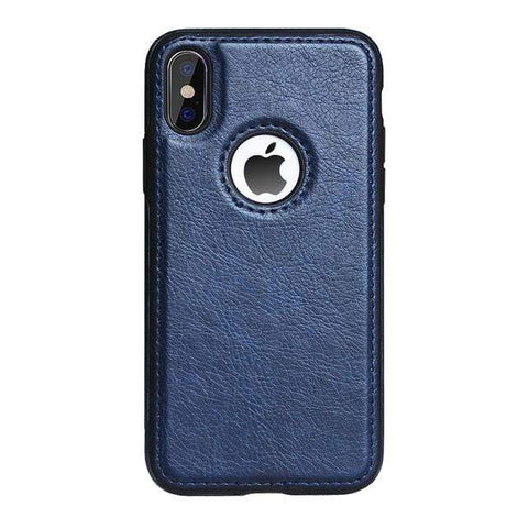 Luxury Slim Leather Case or Cover for iPhone - HomeWareBargains