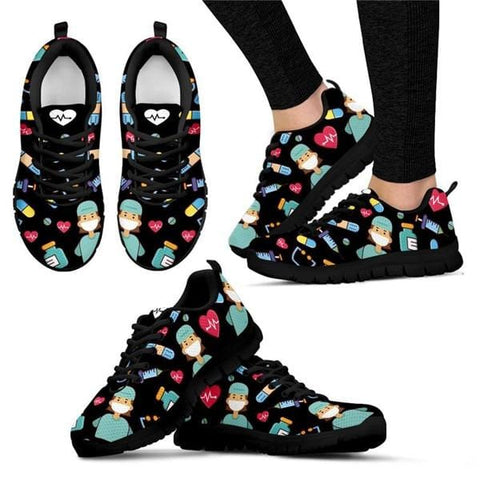 Breathable Comfortable Mesh Sneakers - Nurses Limited Edition +3 to Medical Ability - HomeWareBargains