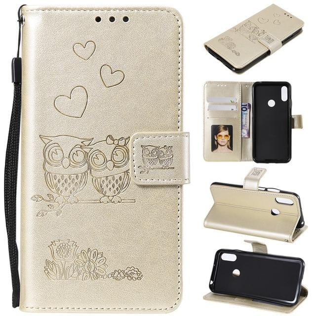 Flip Wallet Leather Case For Huawei P8 P9 Lite 2017 P10 P20 P30 Pro Case For Huawei P Smart - HomeWareBargains