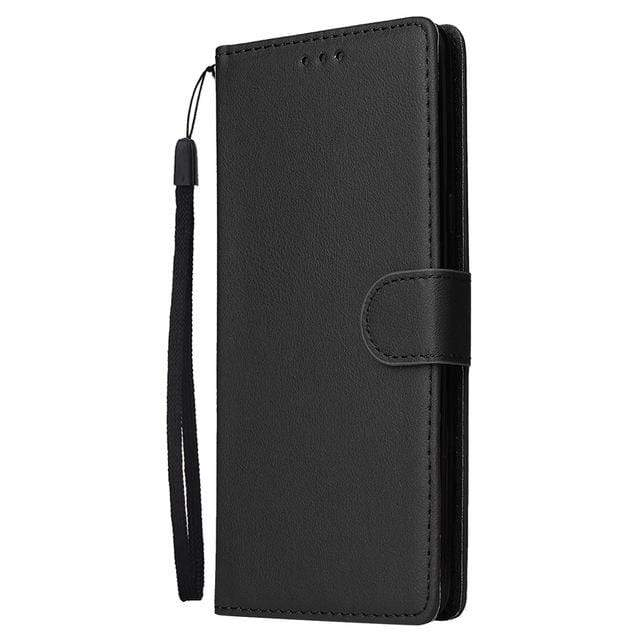 Leather Case For Samsung Galaxy Wallet Cover with Kickstand - HomeWareBargains
