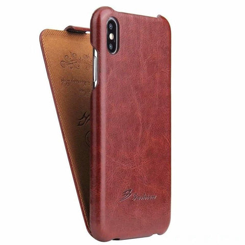 Luxury Leather Flip  Case For iphone x xs max xr 7 8 Se