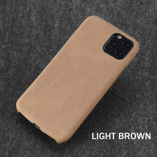 Ultra Thin Phone Case or Cover For iPhone Leather Soft and Thin - HomeWareBargains