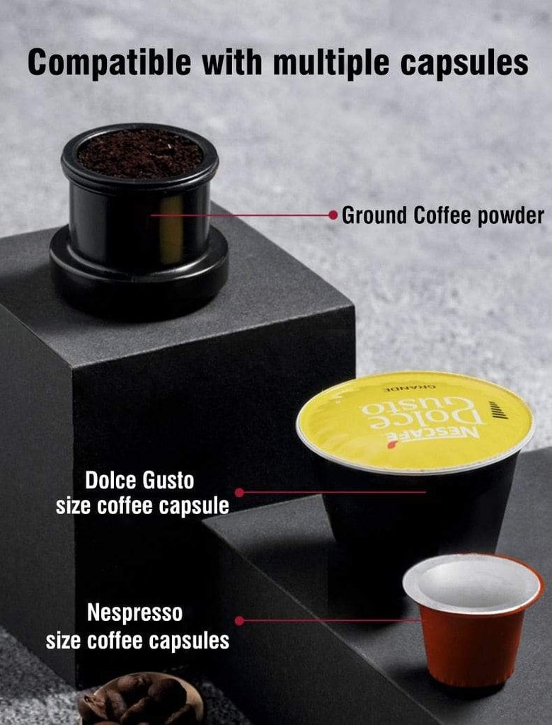 Portable Car Coffee Machine - USB pod Coffee machine, Capsule  Espresso Maker 12V - HomeWareBargains