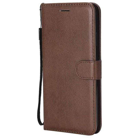Leather Flip Case for Samsung Galaxy Wallet with Kickstand - HomeWareBargains