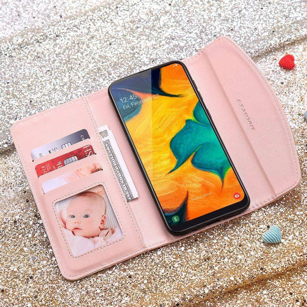 Magnetic Flip Wallet Leather Case for Samsung A70 A50 A71 A51 A40 A30 A20 A10 Girl Phone Cover for Galaxy A21S A41 A20E