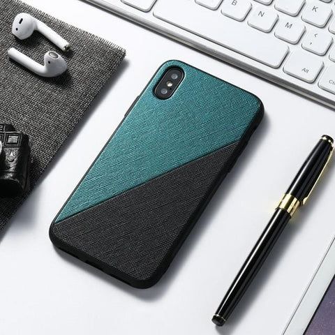 Black Green Leather Case For Samsung Galaxy A51 A71 A31 A41 A50 A70 A40 A30 A21S A6 A9 A7 2018 Note 20 Ultra 10 Pro 8 9 M31 M21 M11 Case