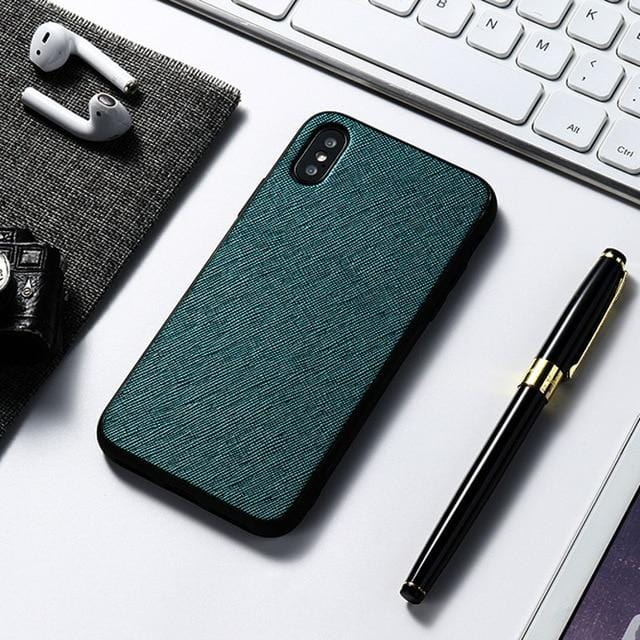 Green Leather Case For Samsung Galaxy A51 A71 A31 A41 A50 A70 A40 A30 A21S A6 A9 A7 2018 Note 20 Ultra 10 Pro 8 9 M31 M21 M11 Case