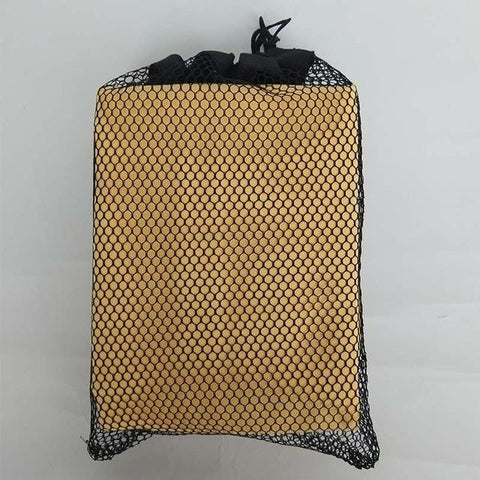 Microfiber Beach towel with Black Mesh Bag for Fast Drying Adult Size
