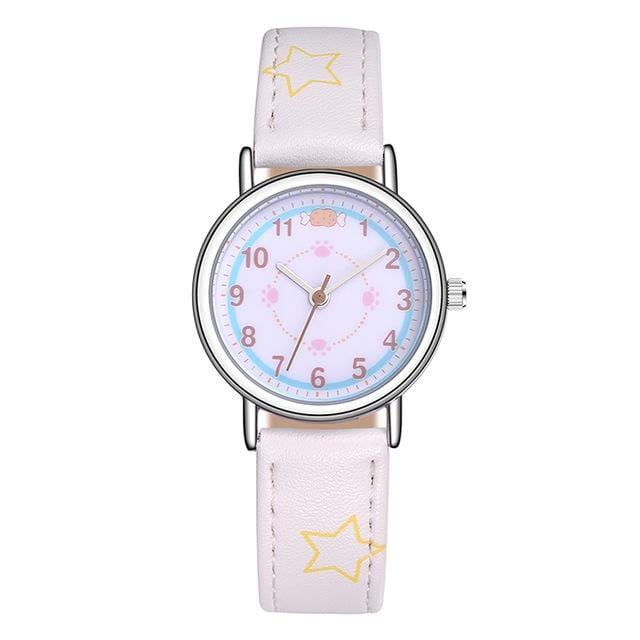 Cats and Puppy Watch - Cartoon with Quartz - HomeWareBargains