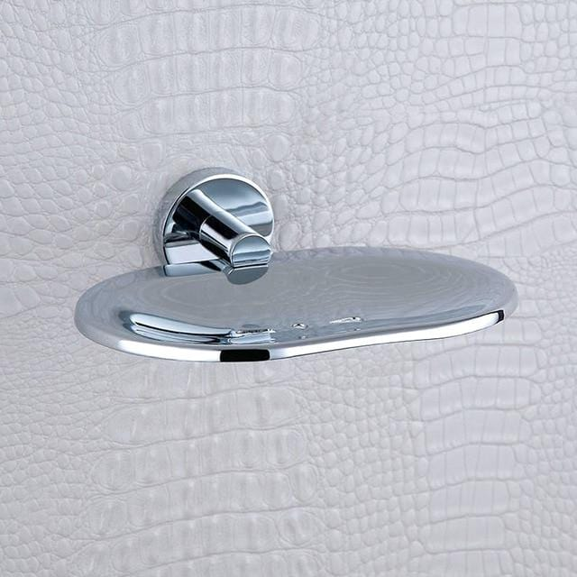 Chrome Wall Mounted 304 Stainless Steel Soap Dish