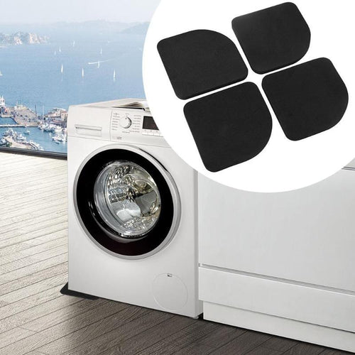 4pcs Washing Machine Non Slip Foot Pad Anti Vibration Shock Proof Feet - HomeWareBargains
