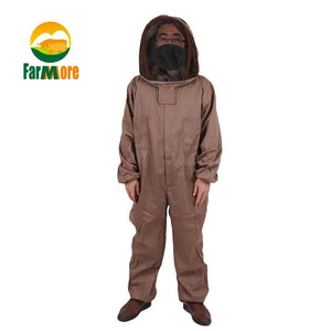1 Set Beekeeping Jacket Cotton Full Protective Beekeeping suits