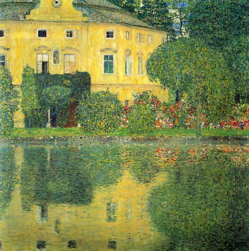 Handmade Oil Painting Reproduction Schloss Kammer on the Attersee IV by Gustav Klimt
