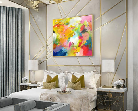 Modern Painting - Abstract Wall Art on Canvas