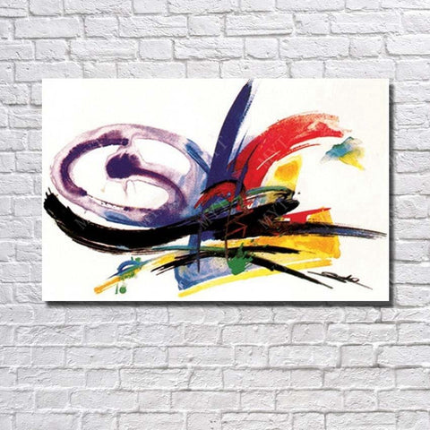 Abstract Oil  Painting - hand  painted