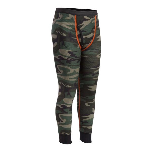 Youth Mini-Waffle Performance Camo Pant