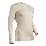 Expedition Weight Cotton Raschel Knit Thermal Crew