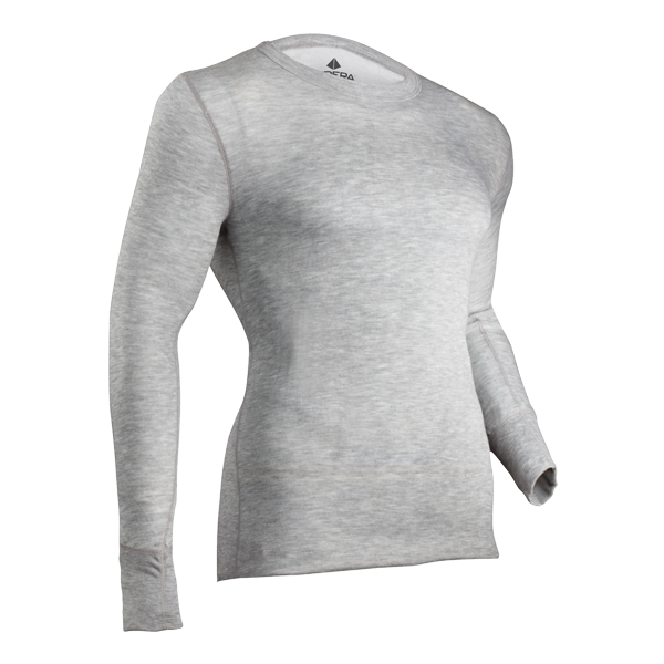 2-Layer Merino Performance Crew